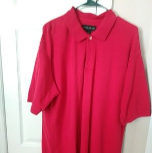 Other - Mens red golf shirt